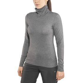 Craft W's Essential Warm Turtleneck Shirt Dk Grey Melange